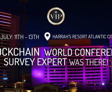 Blockchain World Conference Header Image Survey Expert was there